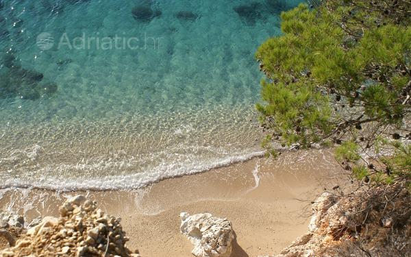 Dovolenka na Jadrane - Pláž Jagodna