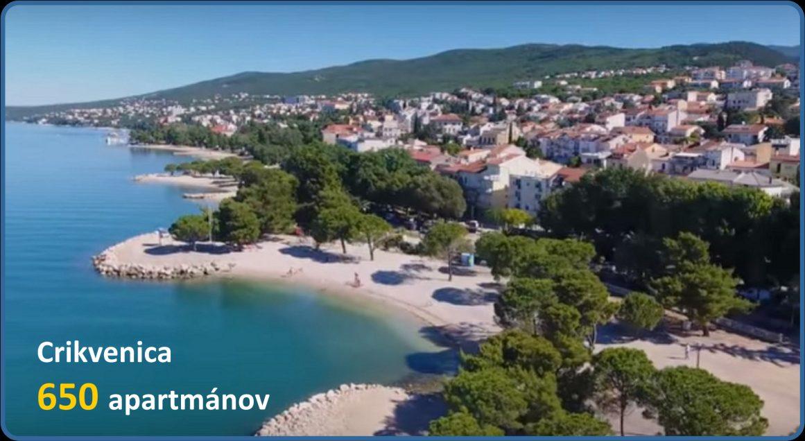 Dovolenka v Chorvátsku - Crikvenica